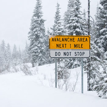 Avalanche safety guidelines