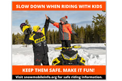 Slow down when riding with kids Social media meme
