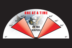 Avalanche warning poster