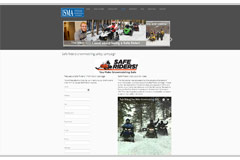snowmobile.org website