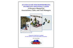 Access Guide for Snowmobiling on Private and Public Lands
