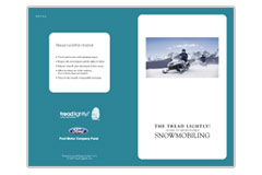 Guide to Responsible Snowmobiling publication